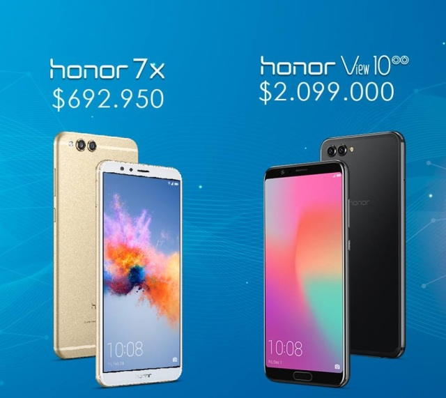 Honor 7x_y Honor View10